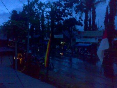 jalanan pada basah